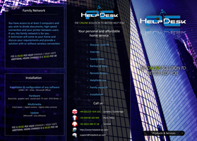 HelpDesk-pc    -   Flyers by miko434