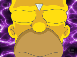 Homer Undergoes Mind Control by KidBobobo