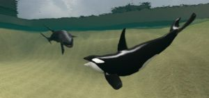 Jaws vs Orca by Aaron1248
