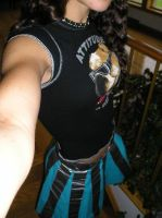Duct Tape Skirt by WeirdBugLady