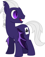 Gray Matter (Bat Pony) by Ambassad0r