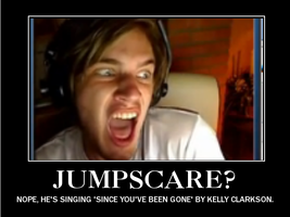 PewDie Motivational Poster by Iggy-Luvs-Unicorns