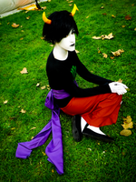 Sitting Kanaya 2 by Kenoma