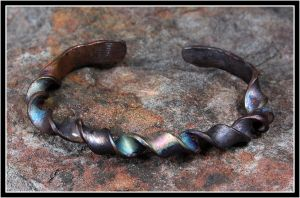 Copper Bracelet by OrestesGraphics