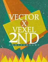 VxV 2nd Anniversary by ceesevenmarzartworks