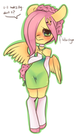 Fluttershy Chibi Edit by Spookie-Sweets