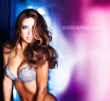 Adriana Lima wallpaper by wall-e-ps