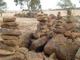 Balancing Towers Of Stone by Wafflite