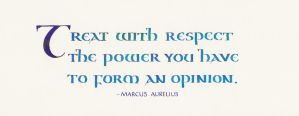 Marcus Aurelius - Opinion by MShades
