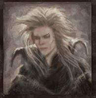 Goblin King Face by MarylinFill