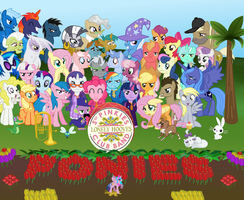 Sgt Pinkies Lonely Hooves Club by Blueshift2k5