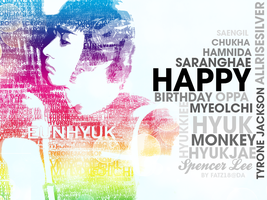 Happy Birthday Eunhyuk by fatz18