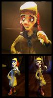 Holden Caulfield Sculpture by Zakeno