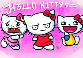Hellokittyplz by nocturnalMoTH