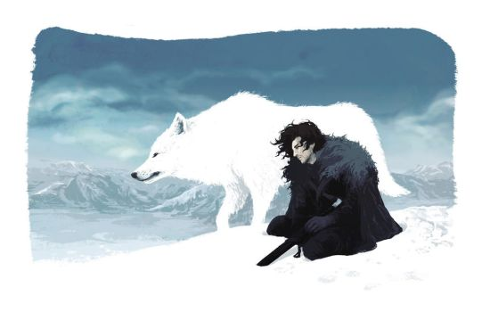 You know nothing, Jon Snow by beanclam