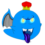 King Kiddo Boo by MegamanDragonoid