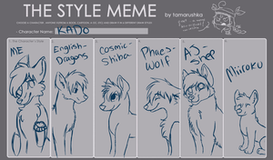 Style meme by Anchoring-Dreams