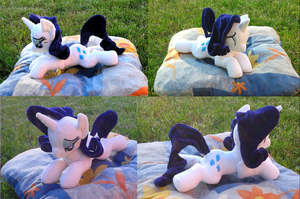 Rarity plushie by DarkCherry87