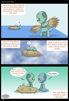 An Alien's Tail: Page 36 by Fishlover