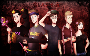 Clash A by VanessaGiratina