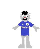 Boony in a chelsea shirt by HTF-432