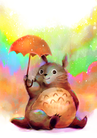 Totoro by KMCeci