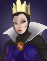 Disney Villain: Queen Grimhilde by plainage