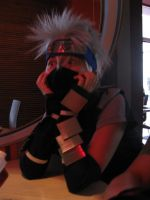 Scared Kakashi by ToraCosplayers