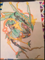 384 - Mega Rayquaza (Concept Version) by Tails19950