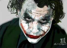 The joker WhY So Serious? by roydraven777
