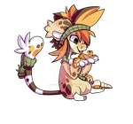 Leopard gecko DTA entry transparent by lalacat2000