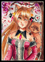 : ACEO - Fukune : by tabithia