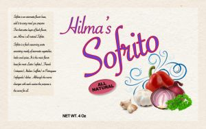 Sofrito Label by tedesigns