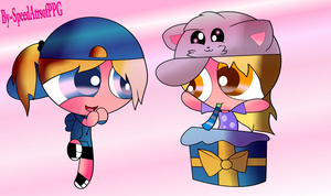 Gift~ Happy B-Day  MarvioBff - PPG [Whit effects] by SpeedAtrsofPPG
