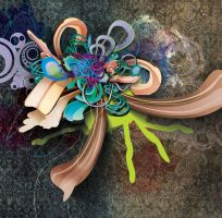 crazy abstract thing by boisei7