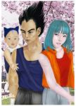 The Vegeta  Family (Live Action Edition) by abielleamiel