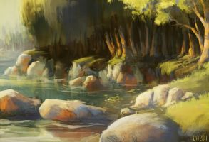 riverbank by Ben-Andrews