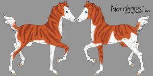 Nordanner foal 2852 -design holder- by saphiraly