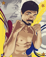 The Rage of Pacman by JereekEspiritu