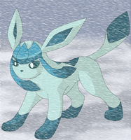 Arctic Warrior Glaceon by KingofAnime-KoA