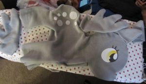 WIP huge Derpy Plush by bluepaws21