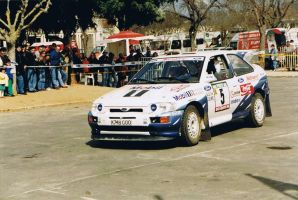 1993, Francois Delecour, Ford, Portugal, Tomar by F1PAM