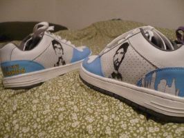 Flight of the Conchords Shoes by ahhhmanda
