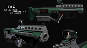 Meet the Advanced Infantry Cannon by Elfdud7