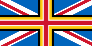 Union Flag with Wales by Rory-The-Lion