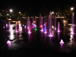Festival Park Fountain2 by NamekAngelIvy