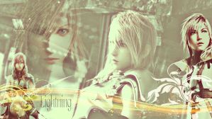Final Fantasy XIII Lightning by TheFallenAngel24