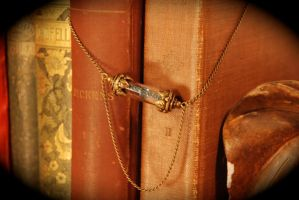 The Tesseract - The Avengers - Antique Brass by kittykat01