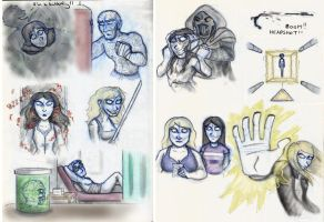 SP Book 7 Sketches by Expression
