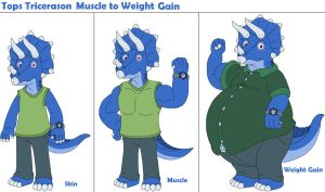 Tops Muscle to Weight Gain by MCsaurus